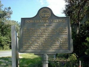 Dorchester Village Historical Marker