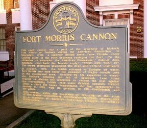 Ft Morris Cannon Marker
