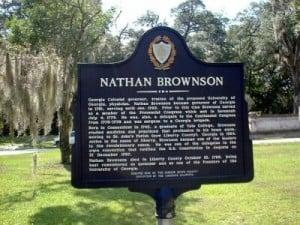 Nathan Brownson Historical Marker