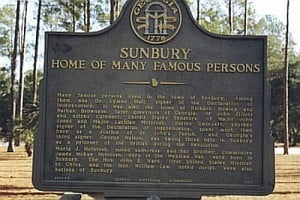 Sunbury Famous Persons Marker