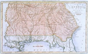 1796 Map of Georgia