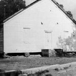 Photograph of Old Lystra Baptist church, Madison County, Georgia,