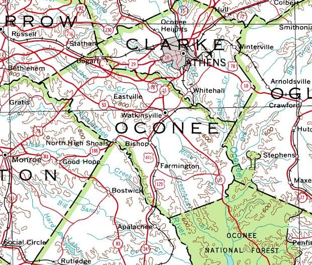 Oconee County 2001