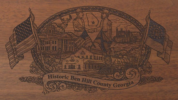 Ben Hill County Georgia Limited Edition - Engraved Rifles - Historical Armory, Inc.: